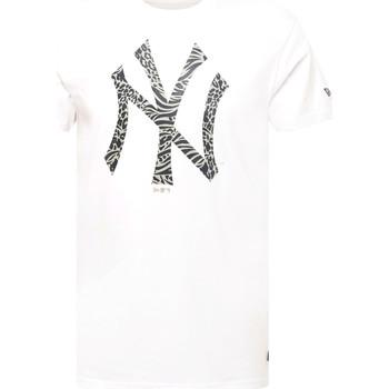 Textil Homem T-Shirt mangas curtas New-Era 12369838 Branco