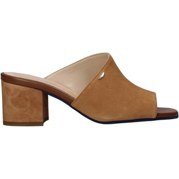 Sapatos Mulher Chinelos Alberto Guardiani AGW003301 Castanho