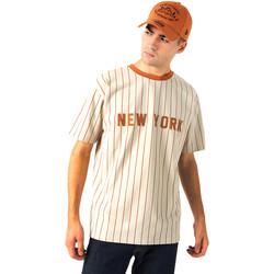 Textil Homem T-Shirt mangas curtas New-Era 12720112 Bege
