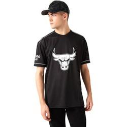 Textil Homem T-Shirt mangas curtas New-Era 12720120 Preto