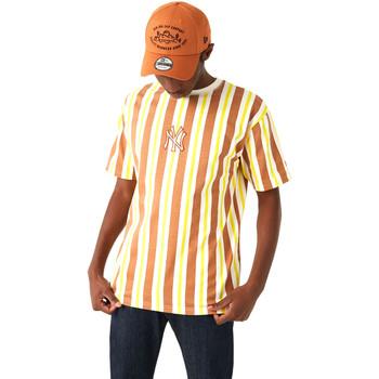 Textil Homem T-Shirt mangas curtas New-Era 12720144 Castanho