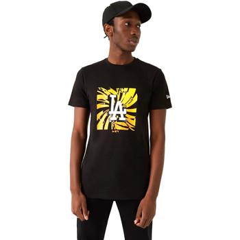 Textil Homem T-Shirt mangas curtas New-Era 12720171 Preto