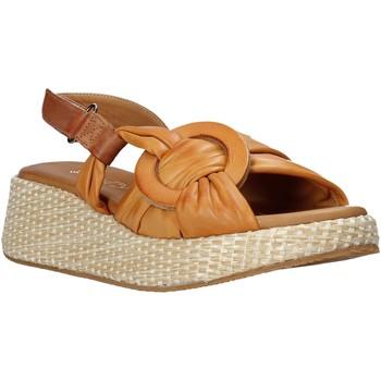Sapatos Mulher Sandálias Sshady L2406 Castanho