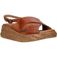 Sapatos Mulher Sandálias Sshady L2410 Castanho