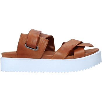 Sapatos Mulher Chinelos Sshady MRT343 Castanho