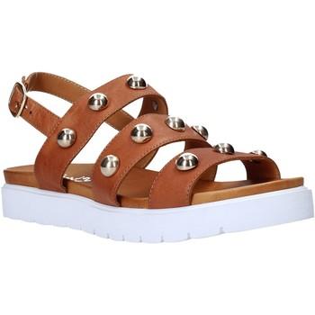Sapatos Mulher Sandálias Sshady MRT126 Castanho