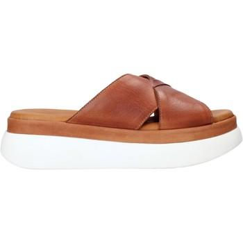 Sapatos Mulher Chinelos Sshady L2206 Castanho