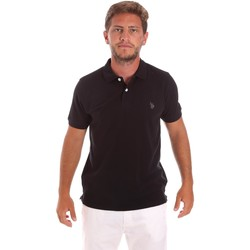 Textil Homem Polos mangas curta U.S Polo Assn. 51007 49785 Preto