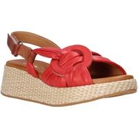 Sapatos Mulher Sandálias Sshady L2406 Vermelho
