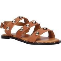 Sapatos Mulher Sandálias Sshady MRT2117 Castanho
