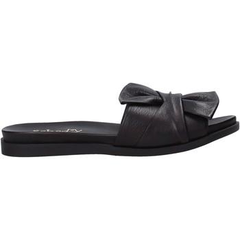 Sapatos Mulher Chinelos Sshady MRT231 Preto