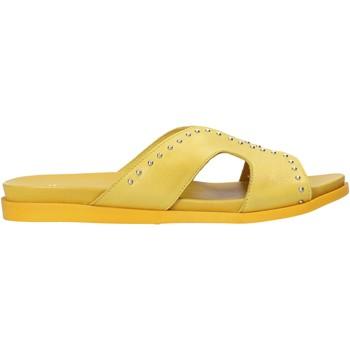 Sapatos Mulher Chinelos Sshady MRT233 Amarelo