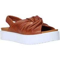 Sapatos Mulher Sandálias Sshady MRT77 Castanho