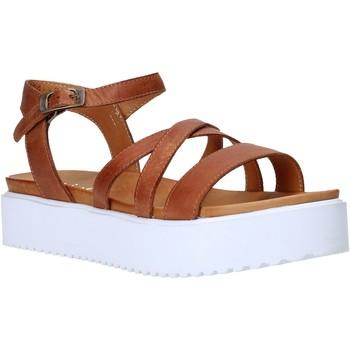 Sapatos Mulher Sandálias Sshady L2304 Castanho