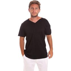 Textil Homem T-Shirt mangas curtas Colmar 7521 6SS Preto