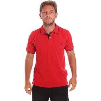 Textil Homem Polos mangas curta U.S Polo Assn. 51139 49785 Vermelho