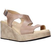 Sapatos Mulher Sandálias Sshady L2505 Castanho