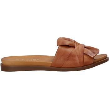 Sapatos Mulher Chinelos Sshady MRT231 Castanho