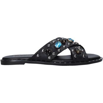Sapatos Mulher Chinelos Sshady MRT510 Preto
