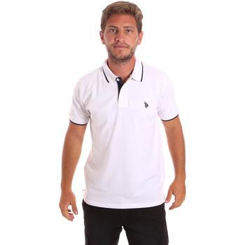 Textil Homem Polos mangas curta U.S Polo Assn. 51139 49785 Branco