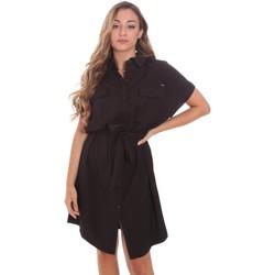 Textil Mulher Vestidos curtos Gaudi 111FD15011 Preto