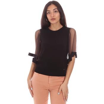 Textil Mulher Tops / Blusas Gaudi 111FD53002 Preto