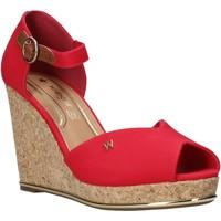 Sapatos Mulher Sandálias Wrangler WL01531A Vermelho