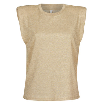 Textil Mulher Tops / Blusas Only ONLSILVERY Bege