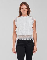 Textil Mulher Tops / Blusas Only ONLKARO Branco