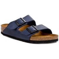 Sapatos Criança Chinelos Birkenstock Arizona Kids Azul marinho