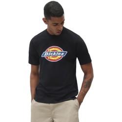 Textil Homem T-Shirt mangas curtas Dickies T-Shirt Icon Logo Black Preto