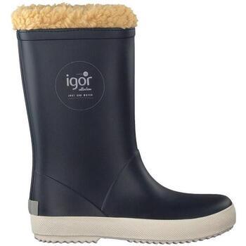 Sapatos Rapaz Botas de neve IGOR Galochas Criança Splash Nautico Marino Azul
