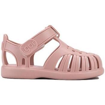 Sapatos Rapariga Sandálias IGOR Sandálias Bebé Toby Solid Maquillage Rosa