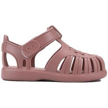 Sapatos Rapariga Sandálias IGOR Sandálias Bebé Toby Solid Pink Rosa