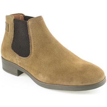 Sapatos Mulher Botas baixas Wilano L Boot Lady Taupe