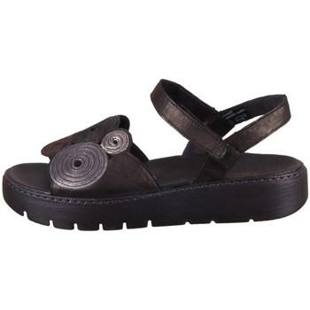 Sapatos Mulher Sandálias Think Sing Preto, Castanho