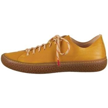 Sapatos Mulher Sapatilhas Think Tjub Cor de mel