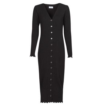 Textil Mulher Vestidos compridos Betty London PIKKI Preto