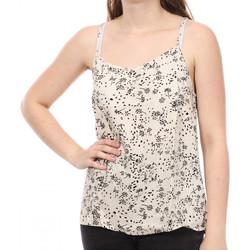 Textil Mulher Tops sem mangas Jacqueline De Yong  Branco