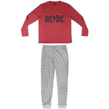Textil Homem Pijamas / Camisas de dormir Ac/dc 2200004849 Rojo