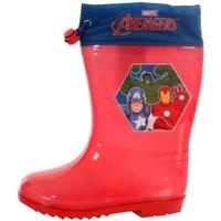 Sapatos Rapaz Botas de borracha Avengers AV13302 Rojo