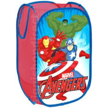 Casa Criança Malas, carrinhos de Arrumação  Avengers AV9438 Azul