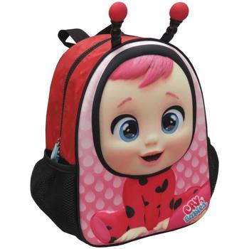 Malas Rapariga Mochila Bebes Llorones MC-201-CR Rosa