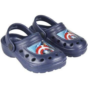 Sapatos Rapaz Tamancos Capitan America 2300004303A Azul