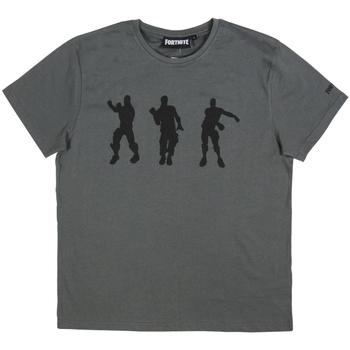 Textil Homem T-Shirt mangas curtas Fortnite 2200005063 Gris