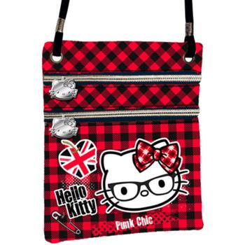 Malas Mulher Bolsa tiracolo Hello Kitty 41563 Rojo