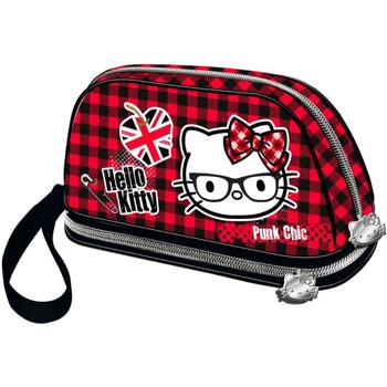 Malas Mulher Estojo Hello Kitty 41631 Rojo
