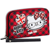 Malas Mulher Carteira Hello Kitty 41594 Rojo