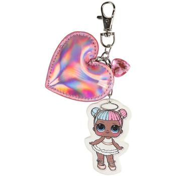 Acessórios Rapariga Porta-chaves Lol 2600000565B Rosa