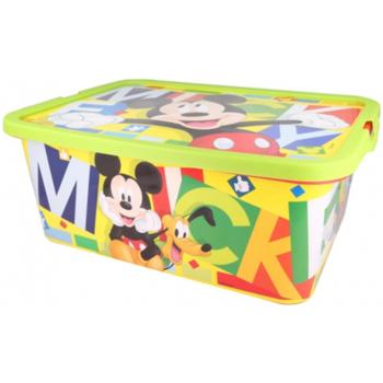 Casa Criança Malas, carrinhos de Arrumação  Disney 2305 Rojo